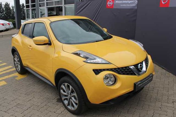 Nissan Juke 1.5 dCi Acenta+ Dsl 5-dr MY16 Yellow